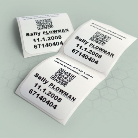 Brenmoor SKIN ID direct to skin patient identification labels