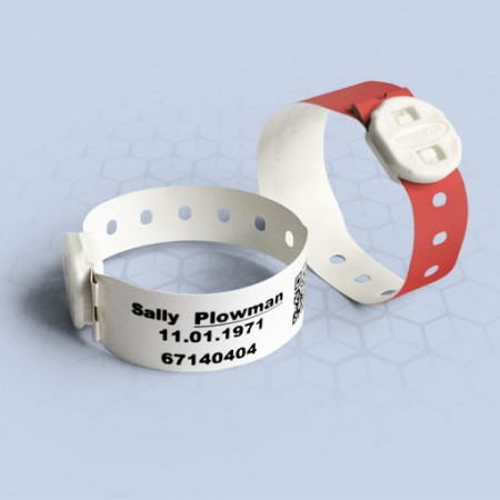 Brenmoor TODFAST LCB low cost printable patient hospital bracelet